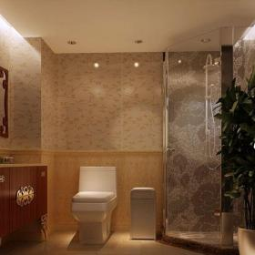 简欧风格三居室卫生间装修图片欣赏效果图