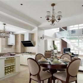 宜家風格復式家居餐廳裝修效果圖