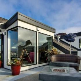 北欧复式露天阳台图片效果图