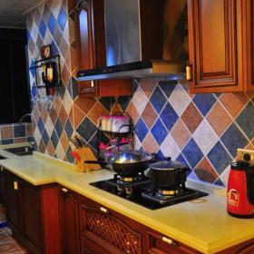橱柜地中海实拍图厨房效果图大全