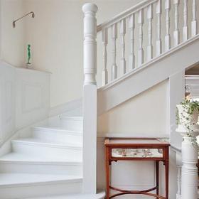 北欧风格别墅富裕型楼梯设计图效果图