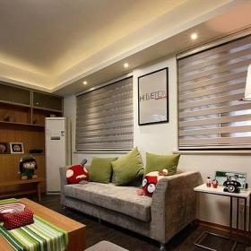混搭宜家风格客厅设计效果图