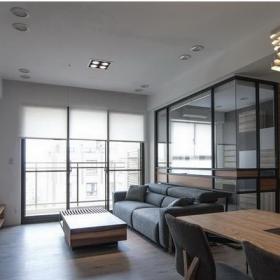 宜家風格簡約一居室內設計圖片效果圖