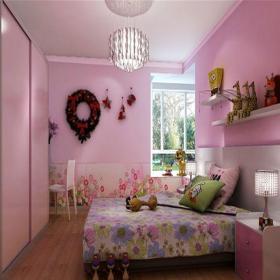 中式風格三居室兒童房床頭柜裝修效果圖欣賞