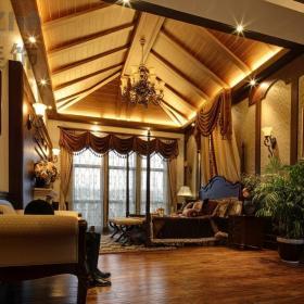 欧式古典卧室吊顶效果图