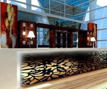 现代咖啡厅吧台效果图片欣赏效果图