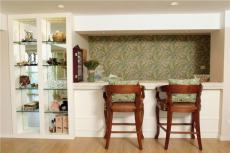 家居摆件墙面装饰小户型90㎡椅凳90m²两室两厅田园风格吧台装修图片田园风格壁柜图片效果图大全