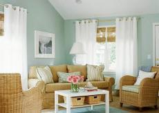 田园风格起居室图片效果图