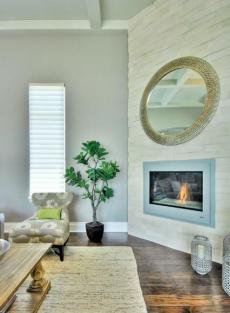 60平米装修客厅田园风格民族风140平米以上客厅吧台设计效果图