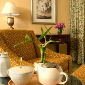 田园风格起居室设计局部图片效果图