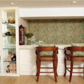 家居摆件墙面装饰小户型90㎡椅凳90m2两室两厅田园风格吧台装修图片田园风格壁柜图片效果图大全