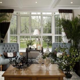 美式起居室设计图片效果图