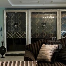 别墅新古典风格起居室装修欣赏效果图