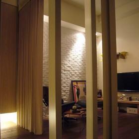 书房望向起居室_1502353效果图