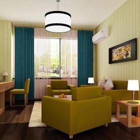 2018商務旅館客房起居室裝修圖片推薦效果圖大全