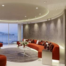 起居室设计客厅吊顶效果图