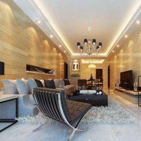 新古典风格三居室客厅吧台装修效果图大全