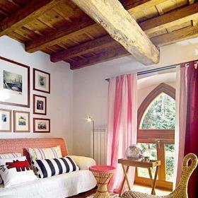 80平米小户型85平二层小复式起居室图片效果图