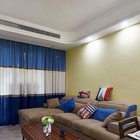 地中海风格四居室客厅吧台装修效果图大全