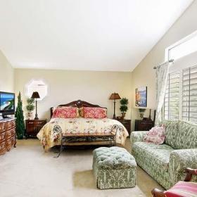 卧室卧室背景墙小卧室起居室图片效果图