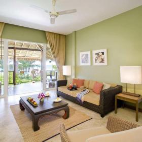 简约东南亚风格起居室图片效果图