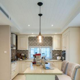 簡歐風格廚房吧臺設計裝修圖片效果圖