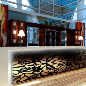 現代咖啡廳吧臺效果圖片欣賞效果圖