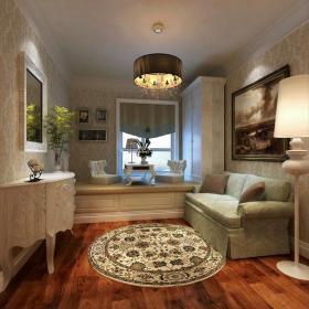 卧室欧式风格起居室装修效果图