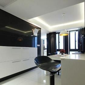 現代風格廚房吧臺裝修效果圖片欣賞