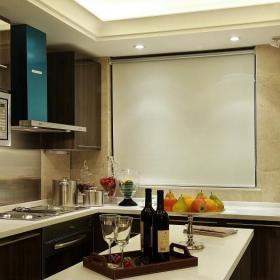 簡約家裝廚房吧臺設計效果圖