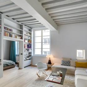 一居室起居室設計效果圖