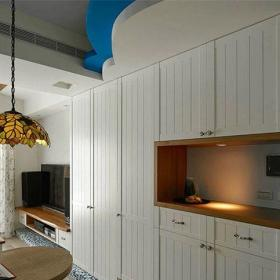 田园风格二居室餐厅吧台装修效果图欣赏