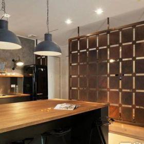 東南亞風格三居室餐廳吧臺裝修效果圖大全