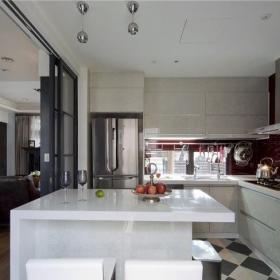 美式家居 吧台室内设计效果图片效果图