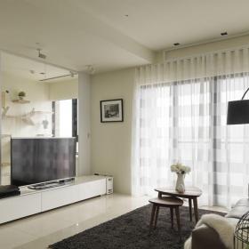 简约小户型起居室装修效果图