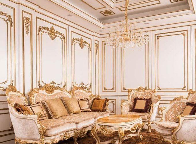 壁紙電視背景墻沙發背景墻起居室護墻板裝飾圖效果圖