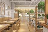 原木火鍋店裝修和設計效果圖