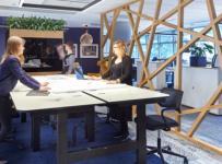 华可可办公空间装修设计案例