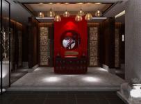 南京古云轩茶楼工装装修设计案例