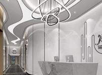 曼爾美容院工裝裝修設計效果圖案例