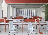 拼色靈活辦公空間工裝案例