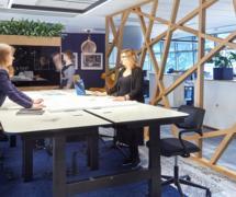 華可可辦公空間裝修設計案例