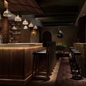 最新酒吧室內吧臺效果圖片欣賞
