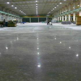 工厂混泥土固化地坪装修案例
