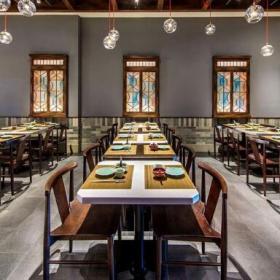 上海沪菜餐厅装饰效果图