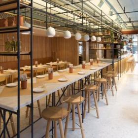 OPSO餐厅设计效果图案例