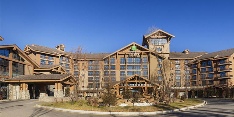 长白山酒店工装设计效果图案例