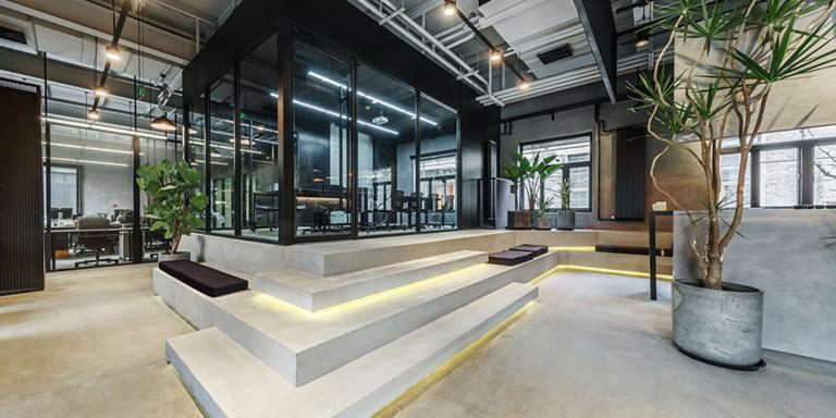 北京WMY辦公空間工裝設計效果圖案例
