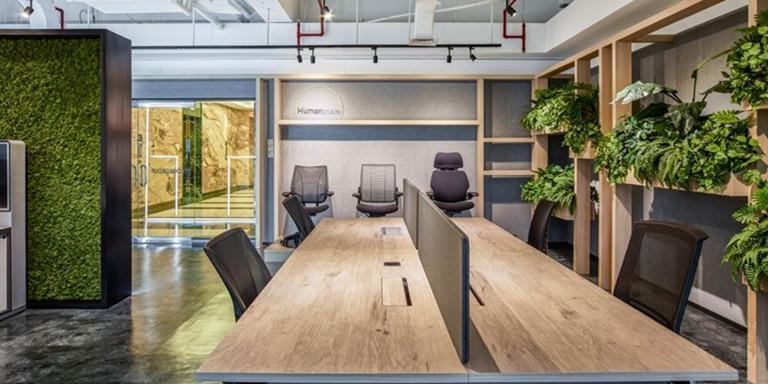 Technigroup辦公室裝修設計效果圖案例