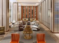 简阳商务酒店工装设计效果图案例赏析